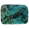 African Turquoise 30x40mm Rectangle 4Pcs Approx